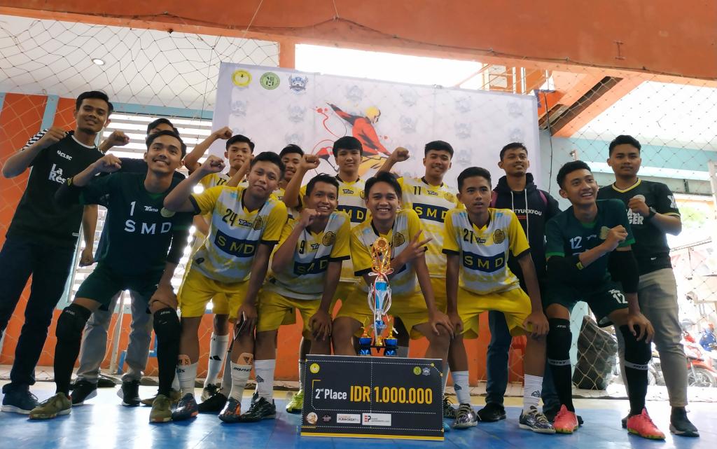 Juara 2 Mipa Futsal Championship Tingkat SMA/SMK/MA se Barlingmascakeb Tahun 2019