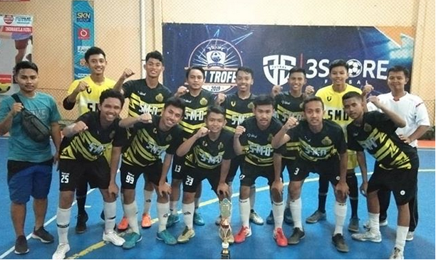 Juara 1 POPDA FUTSAL PUTRA Tingkat SMA/SMK/MA se-Kabupaten Kebumen Tahun 2020
